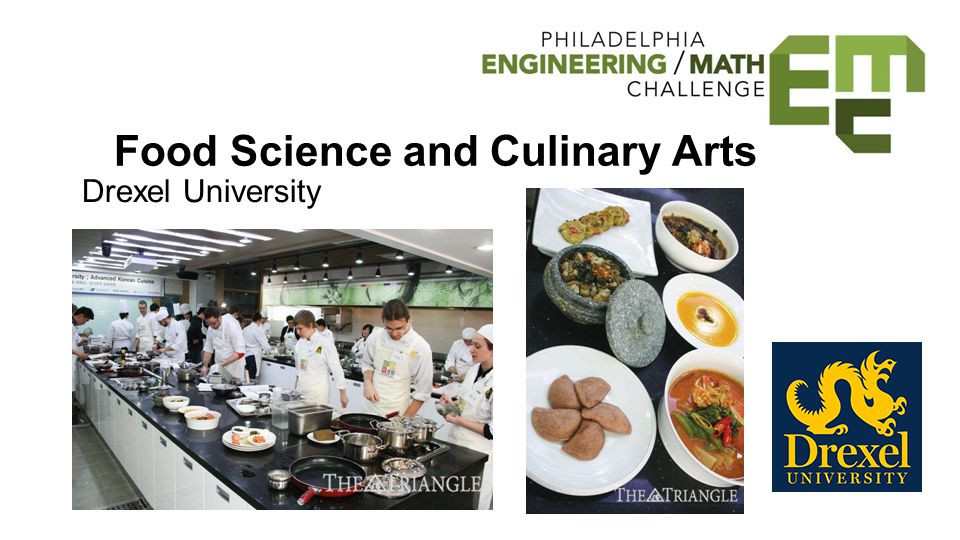 Food Science and Culinary Arts Drexel University