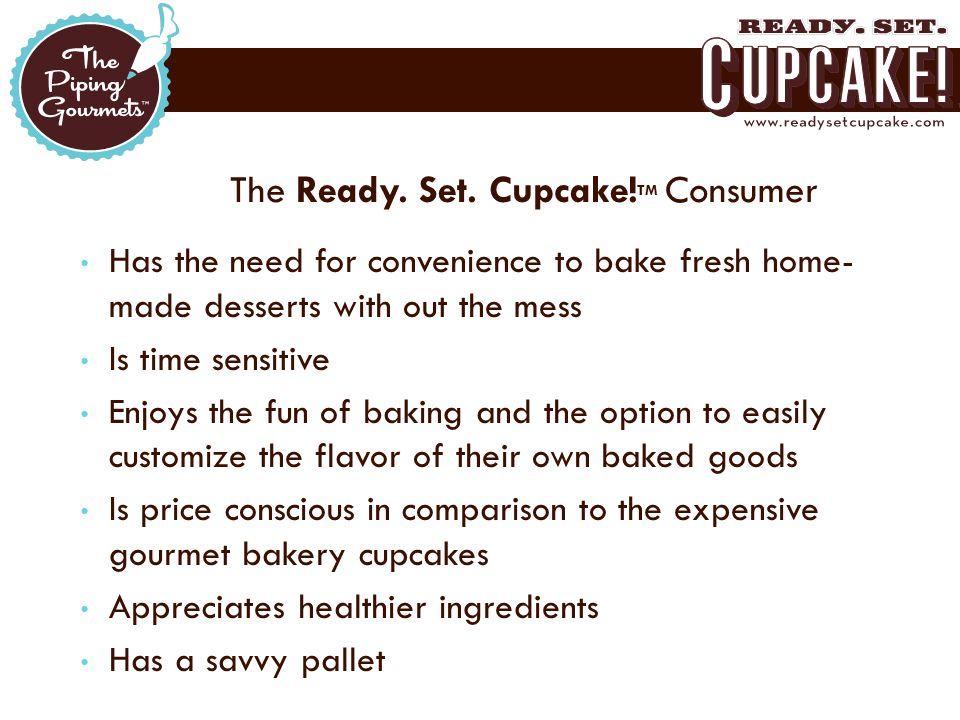 The Ready. Set. Cupcake.