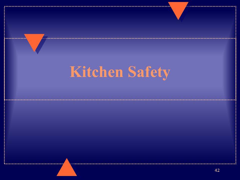 Kitchen Safety 42