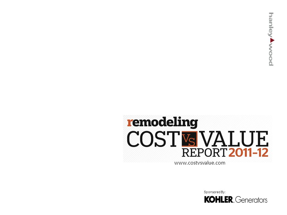 www.costvsvalue.com Sponsored By: