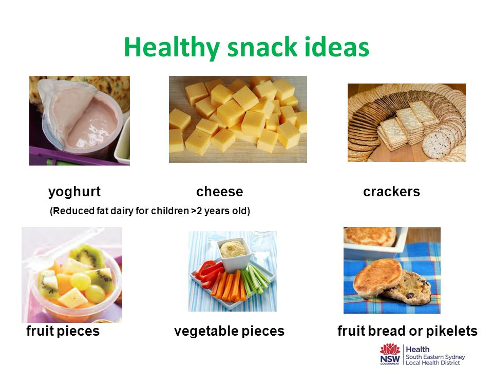 Foods to avoid ×Potato chips, flavoured savoury biscuits and instant noodles ×Cakes, muesli bars, and sweet biscuits ×Pastries (e.g.