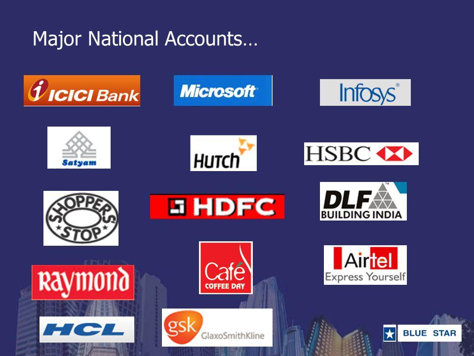 Major National Accounts…