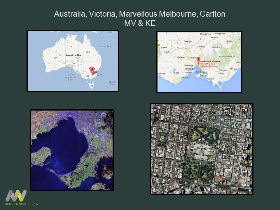 Australia, Victoria, Marvellous Melbourne, Carlton MV & KE