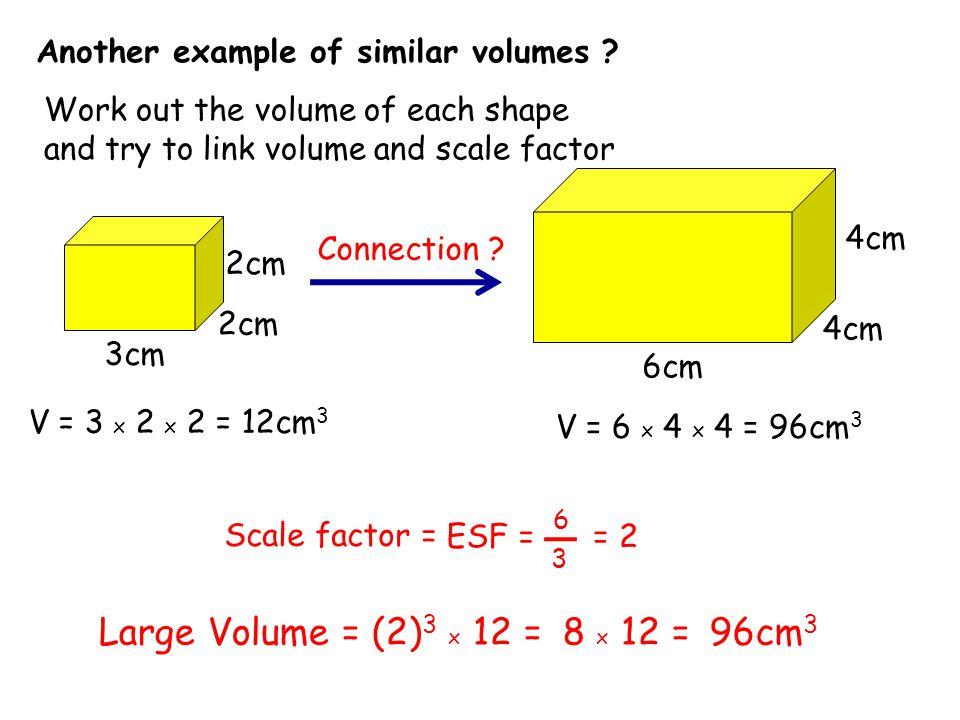 Another example of similar volumes .