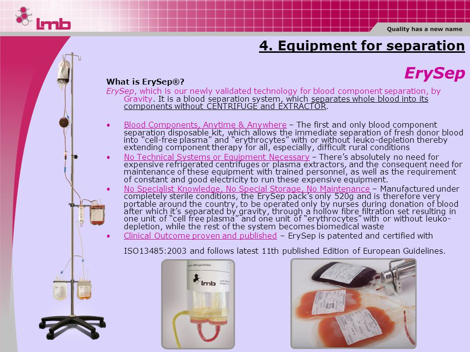 What is ErySep®.