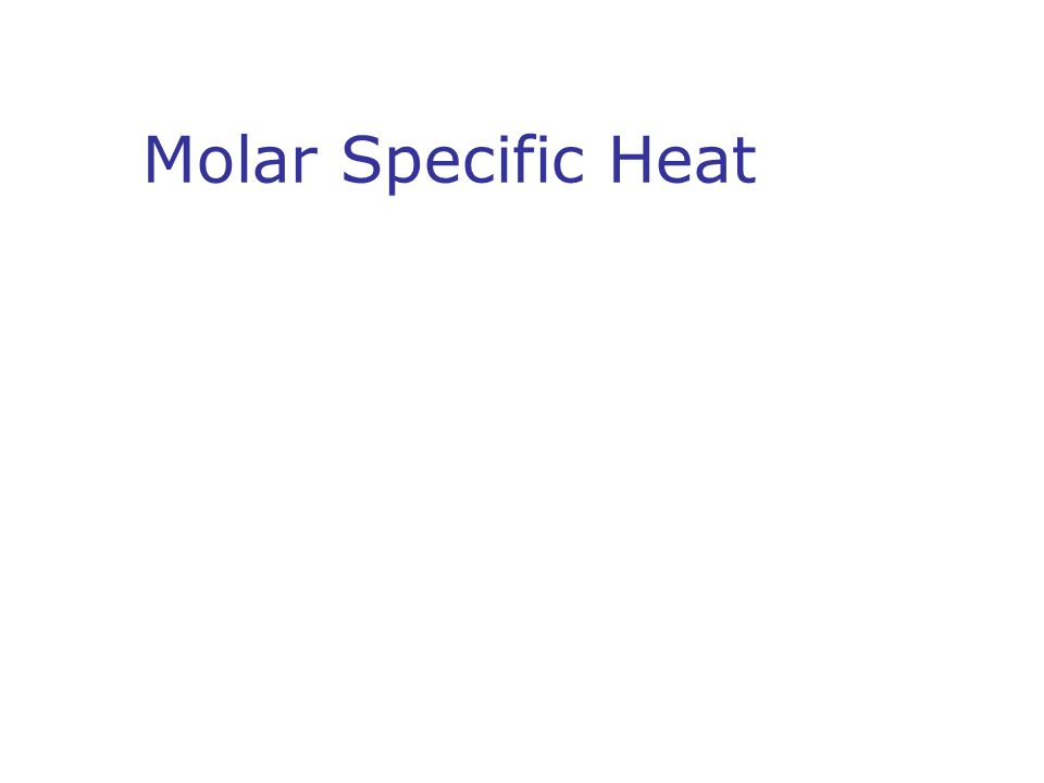 Molar Specific Heat