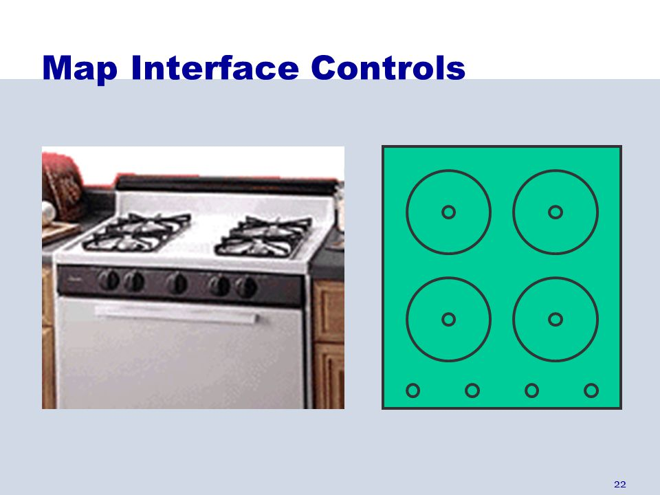 22 Map Interface Controls