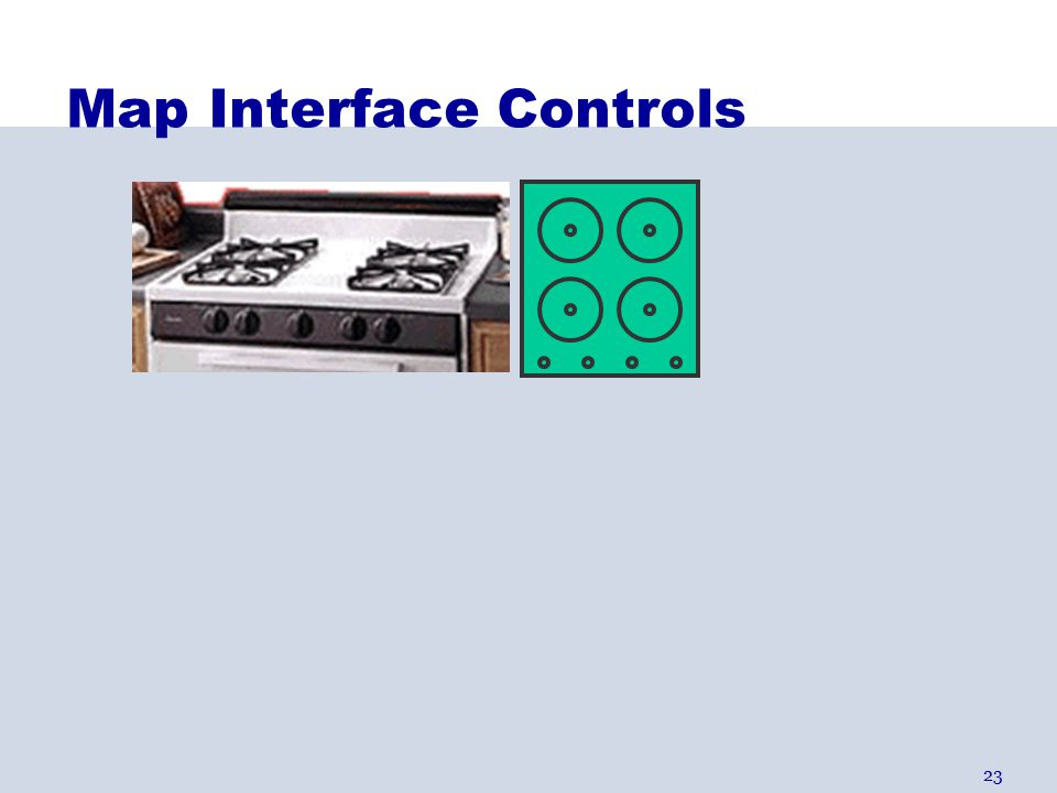 23 Map Interface Controls
