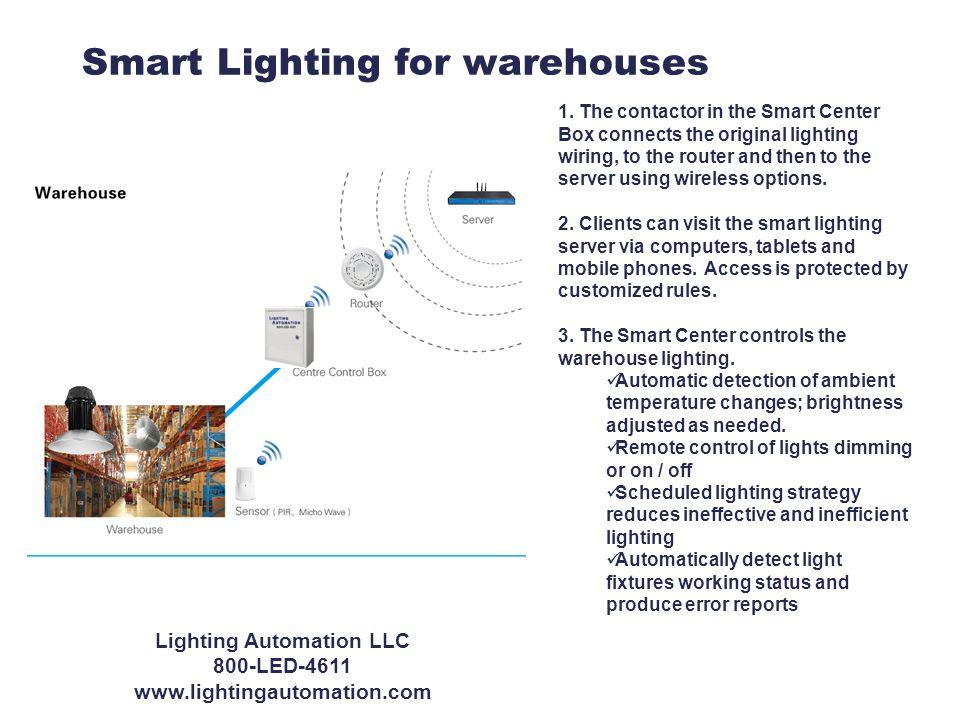 Smart Lighting for warehouses 1.