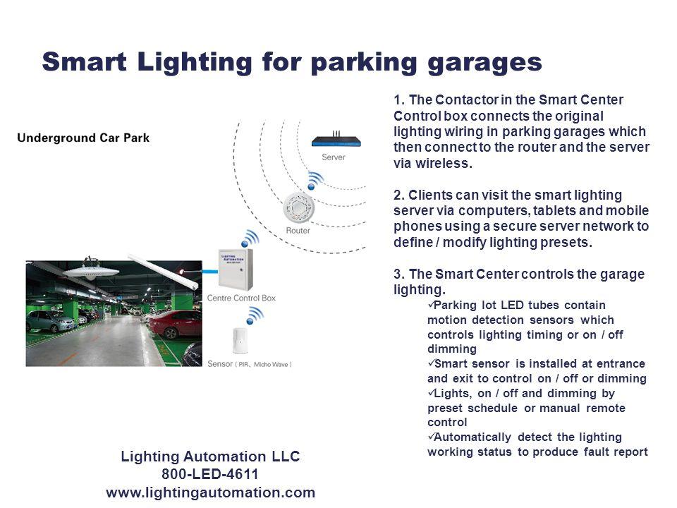 Smart Lighting for parking garages 1.