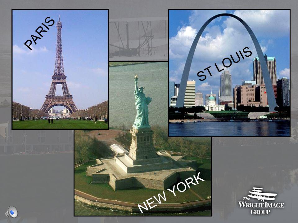 PARIS ST LOUIS NEW YORK