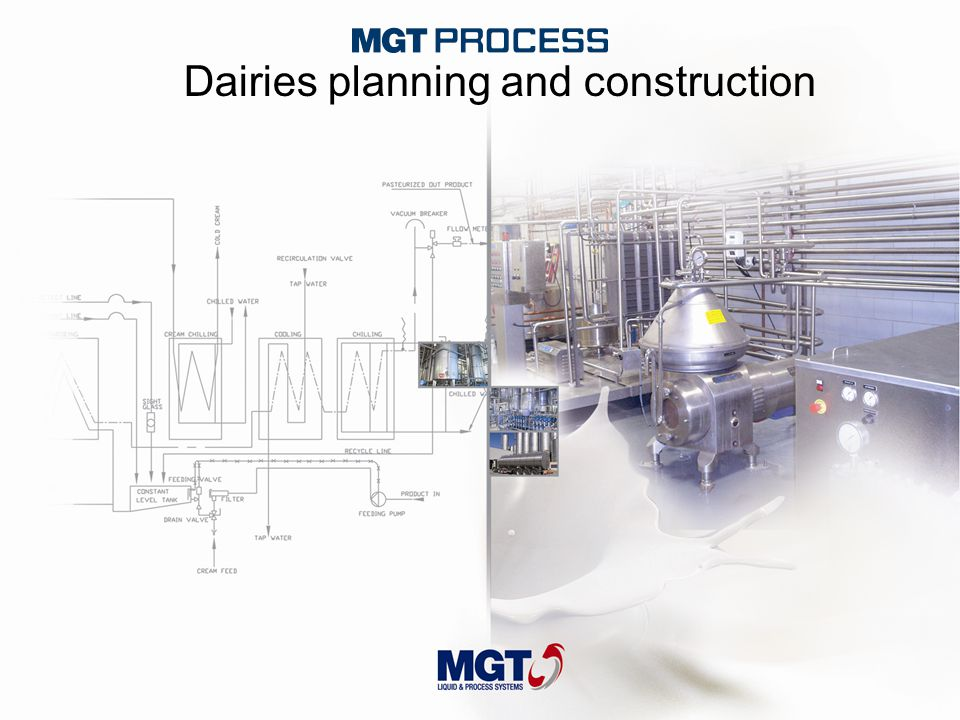 Dairies planning and construction