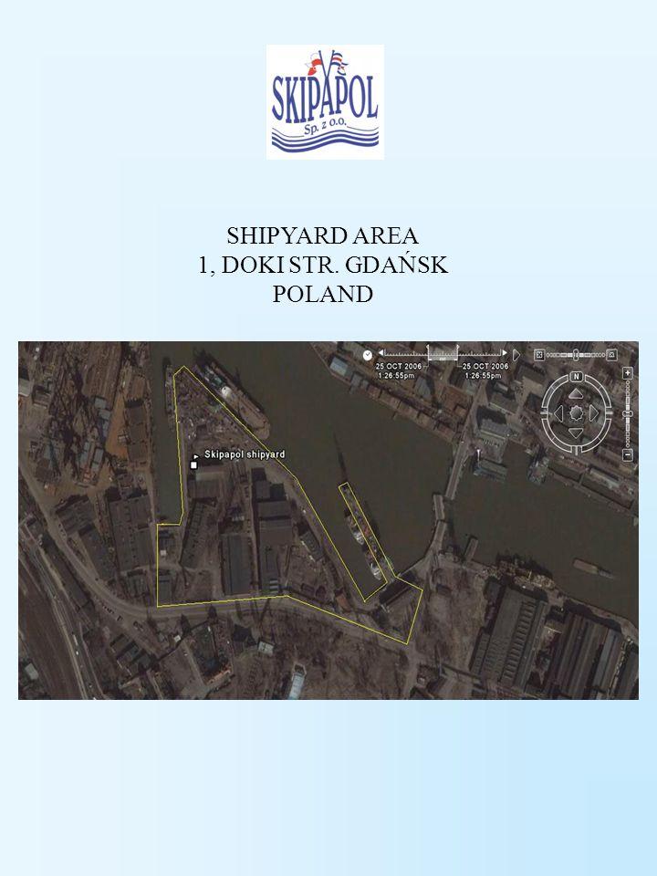SHIPYARD AREA 1, DOKI STR. GDAŃSK POLAND