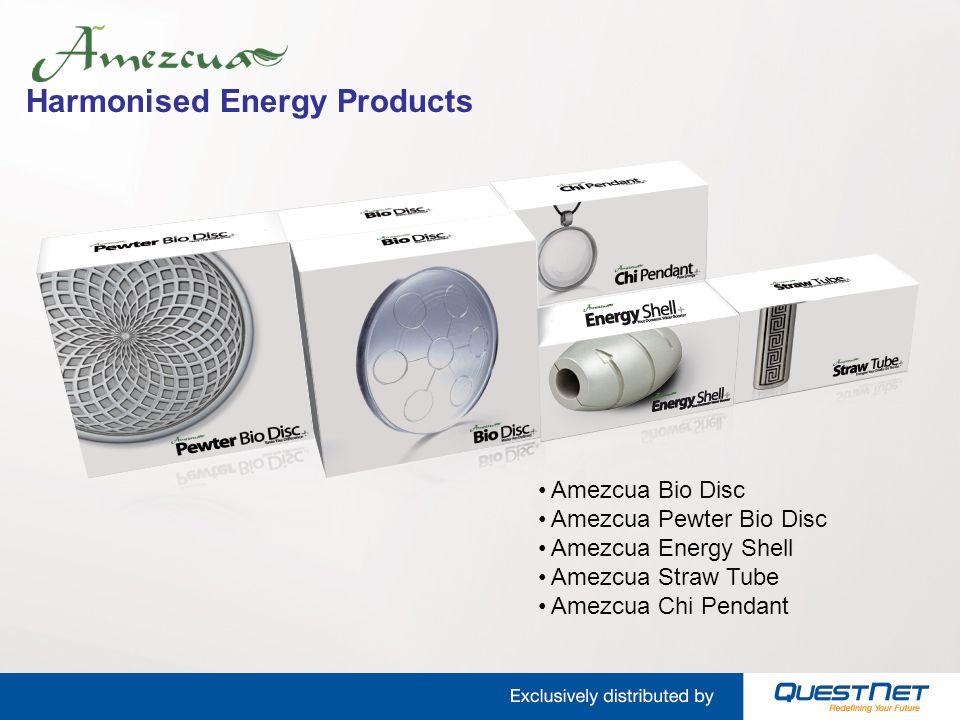 Harmonised Energy Products Amezcua Bio Disc Amezcua Pewter Bio Disc Amezcua Energy Shell Amezcua Straw Tube Amezcua Chi Pendant