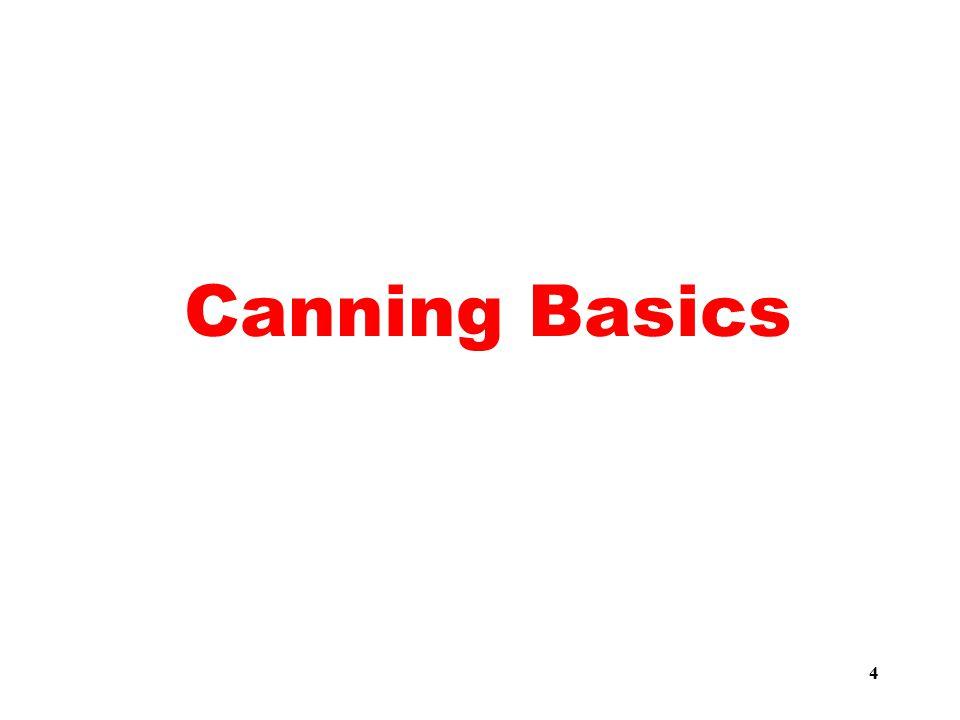 4 Canning Basics