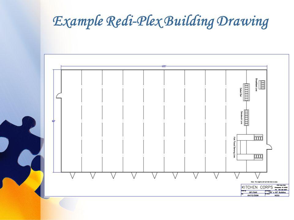 Example Redi-Plex Building Drawing