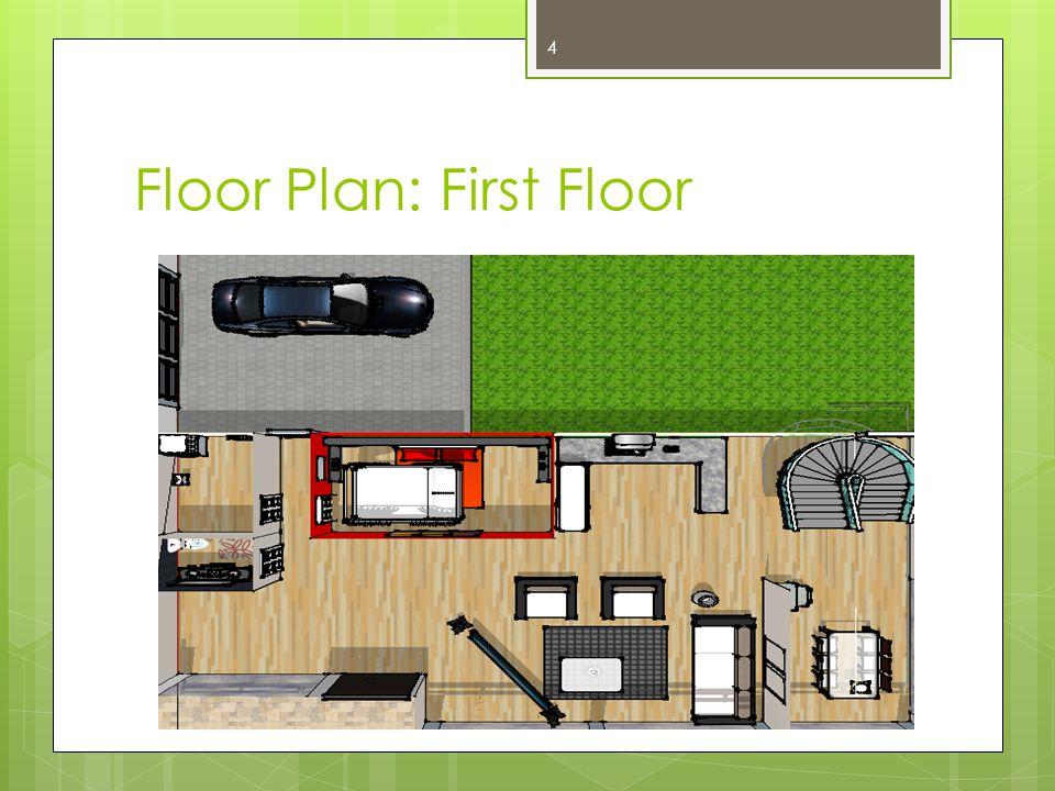 Floor Plan: First Floor 4