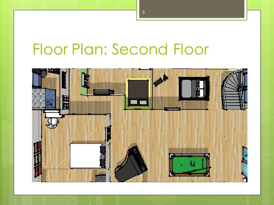 Floor Plan: Second Floor 5