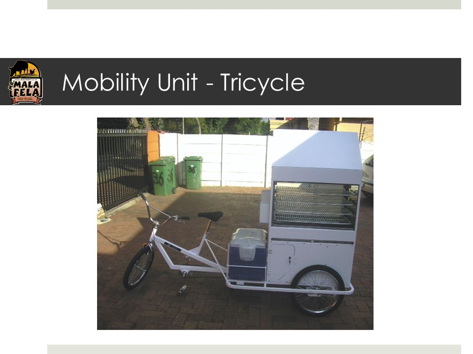 Mobility Unit - Tricycle