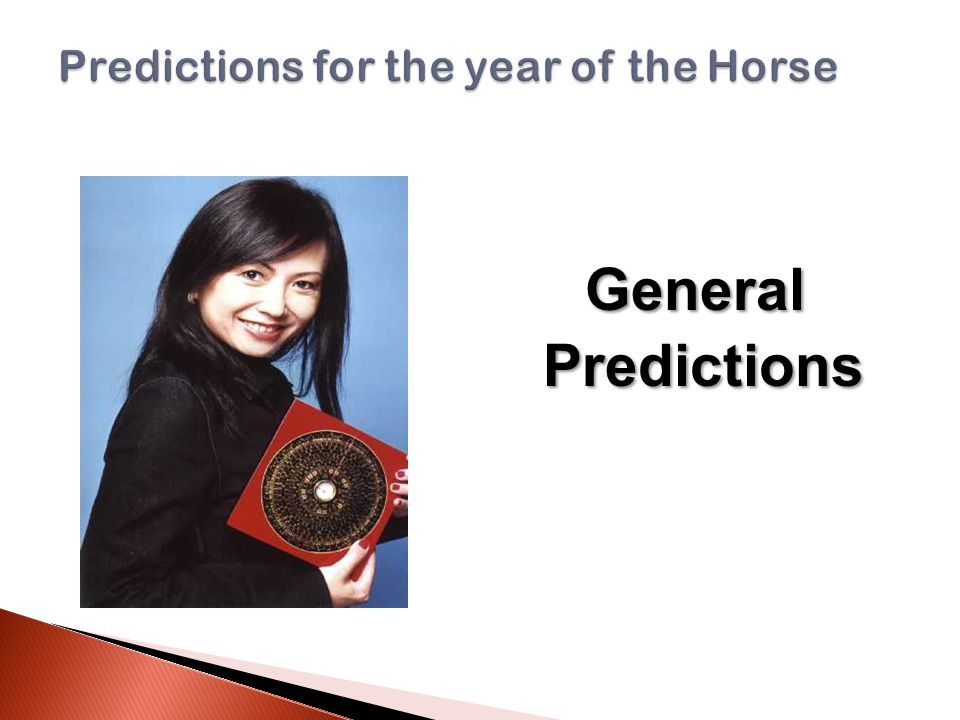 General General Predictions Predictions