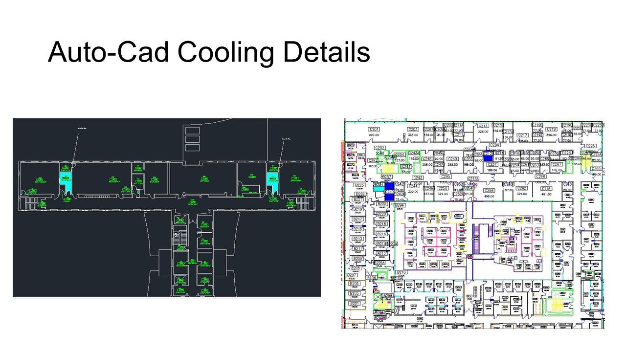 Auto-Cad Cooling Details