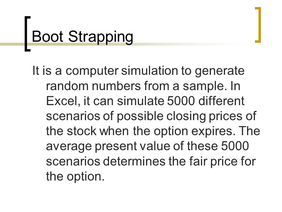 Example of a computer simulation Suppose you are flipping a coin.