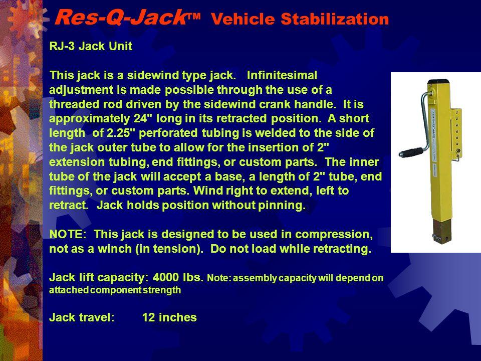 RJ-3 Jack Unit This jack is a sidewind type jack.