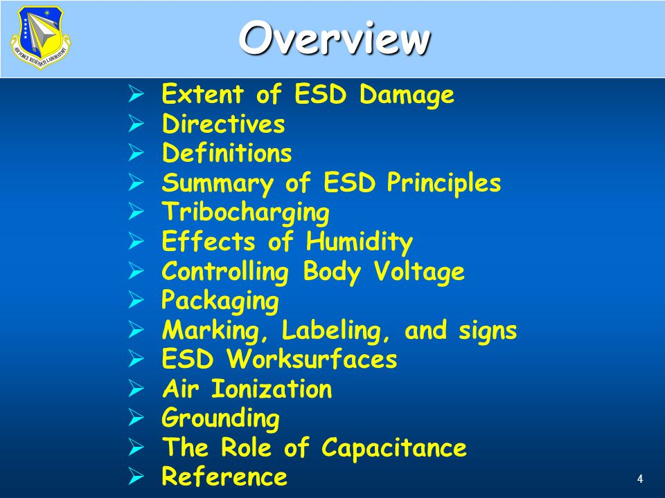 35 ESD Control Work Areas T.O.