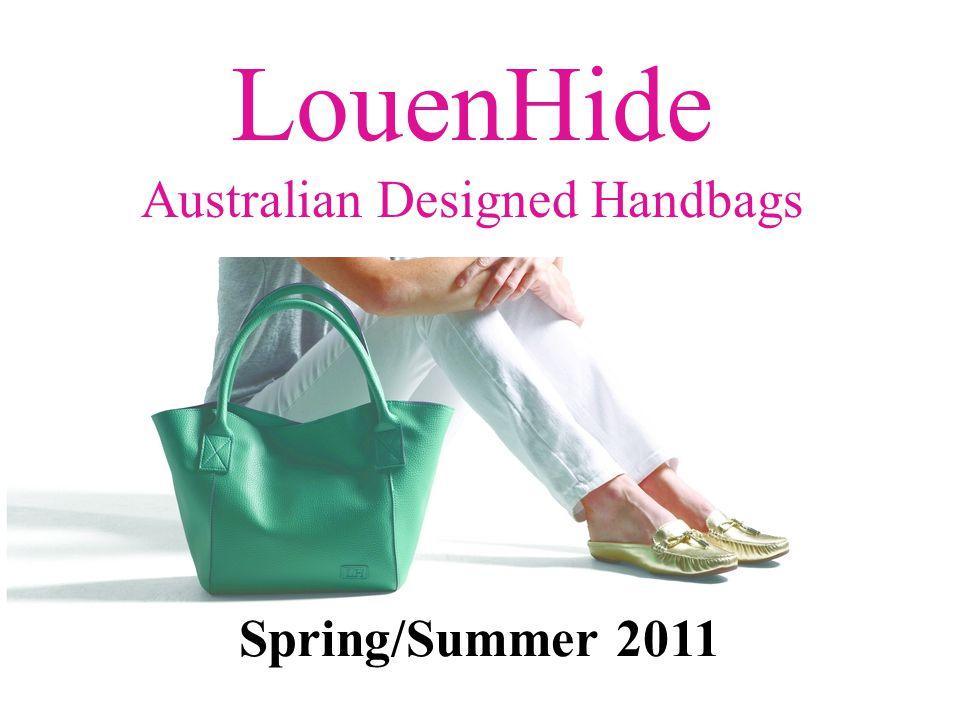 Spring/Summer 2011 LouenHide Australian Designed Handbags
