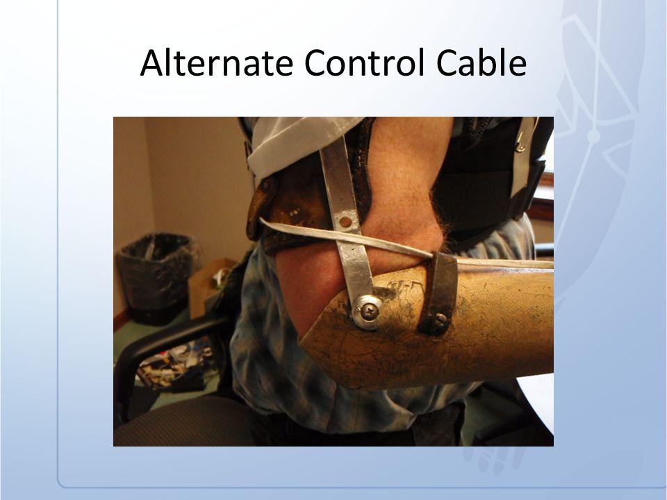Alternate Control Cable
