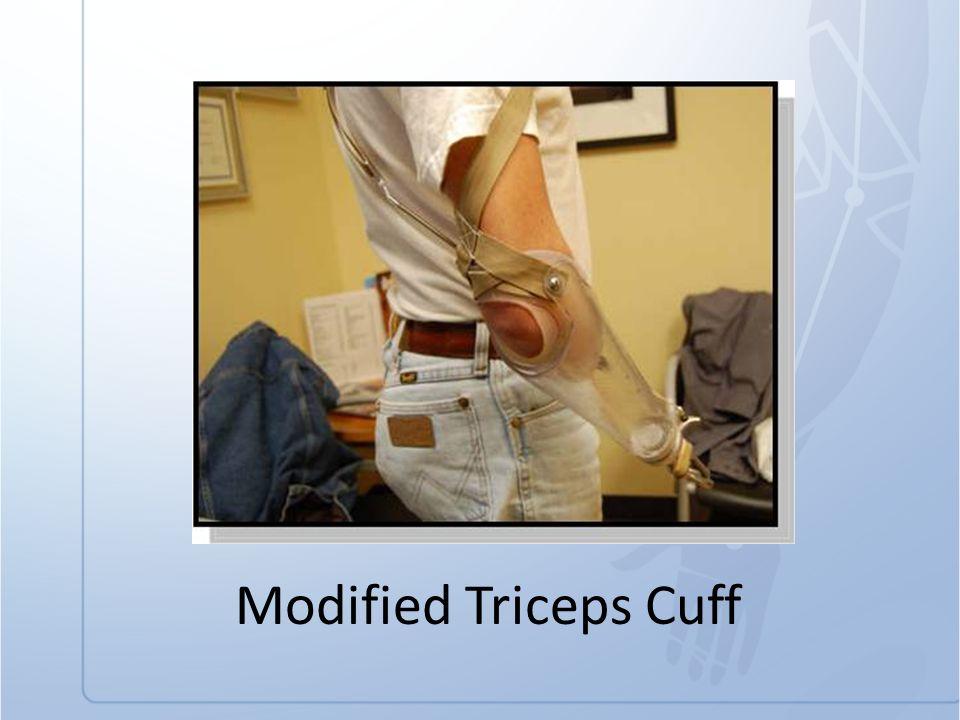 Modified Triceps Cuff