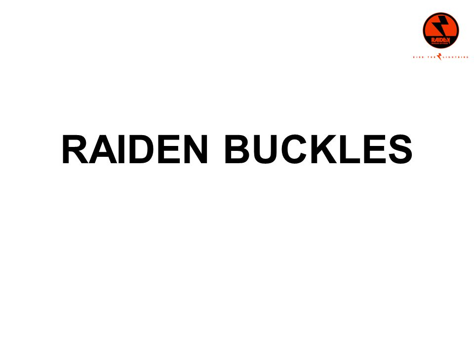 RAIDEN BUCKLES