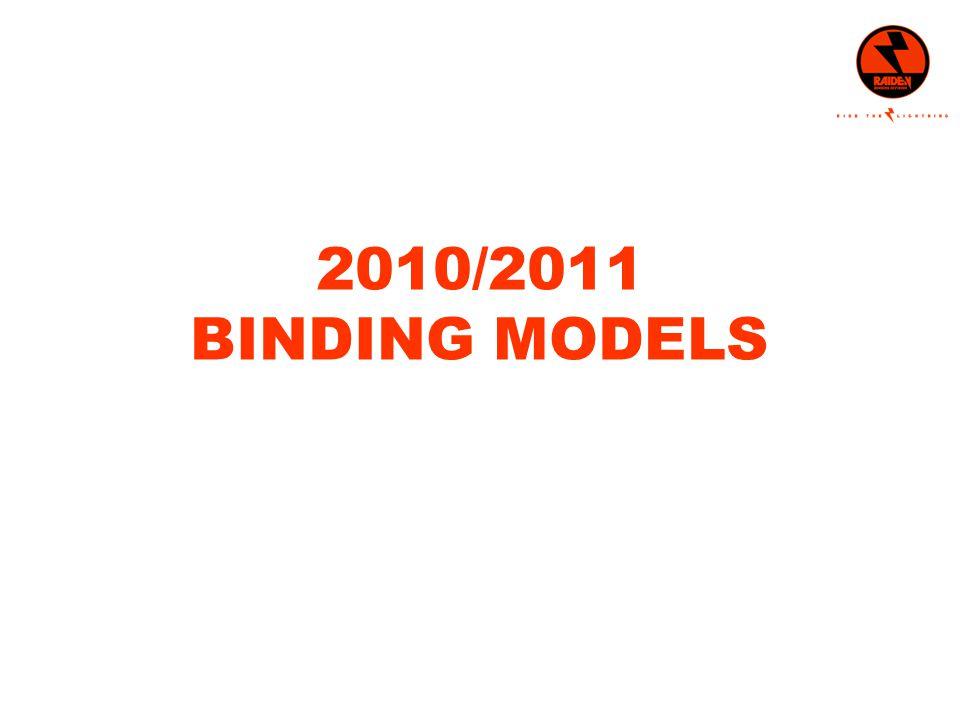 2010/2011 BINDING MODELS
