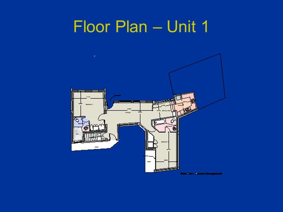 Floor Plan – Unit 1