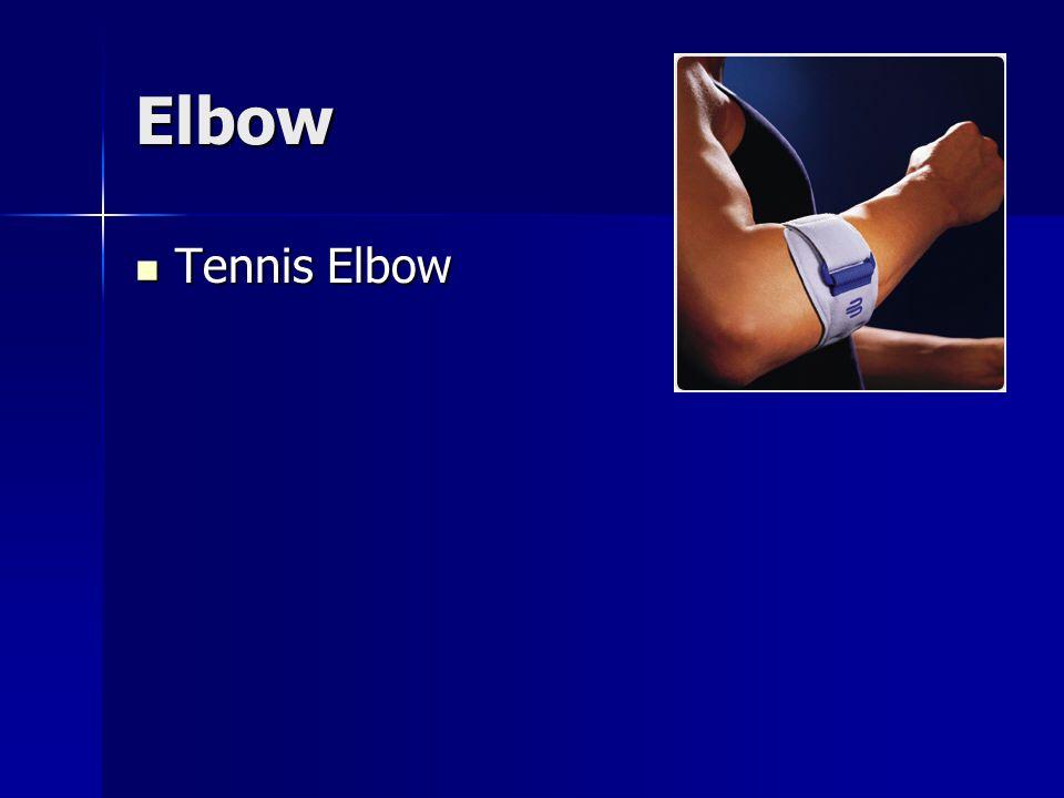 Elbow Tennis Elbow Tennis Elbow