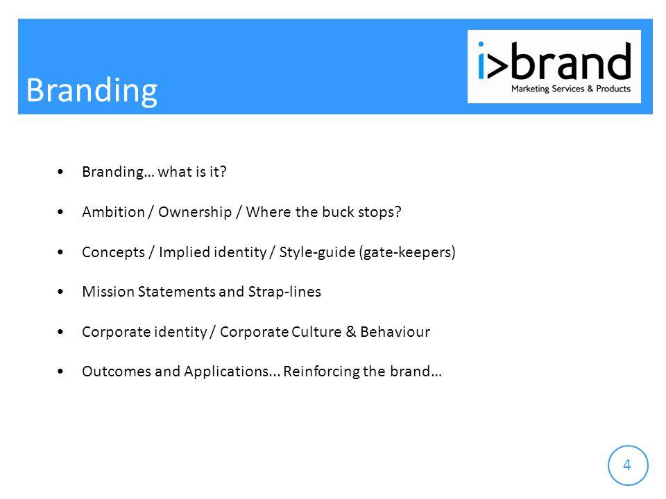 Branding...Logo Behaviour... Logo Brand = Logo...