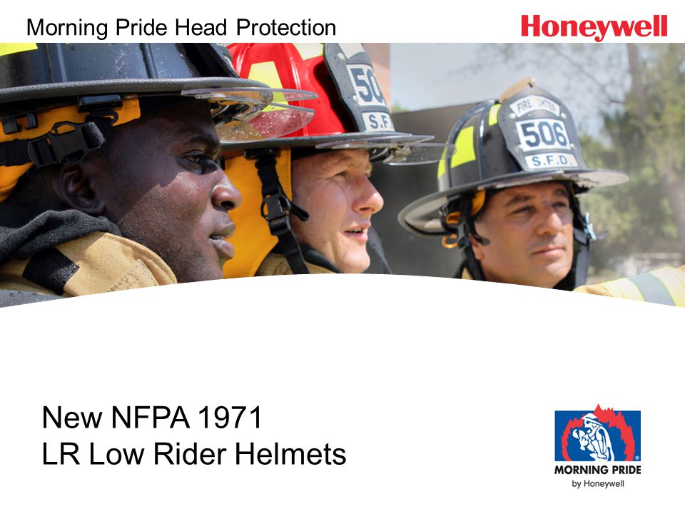 New NFPA 1971 LR Low Rider Helmets Morning Pride Head Protection