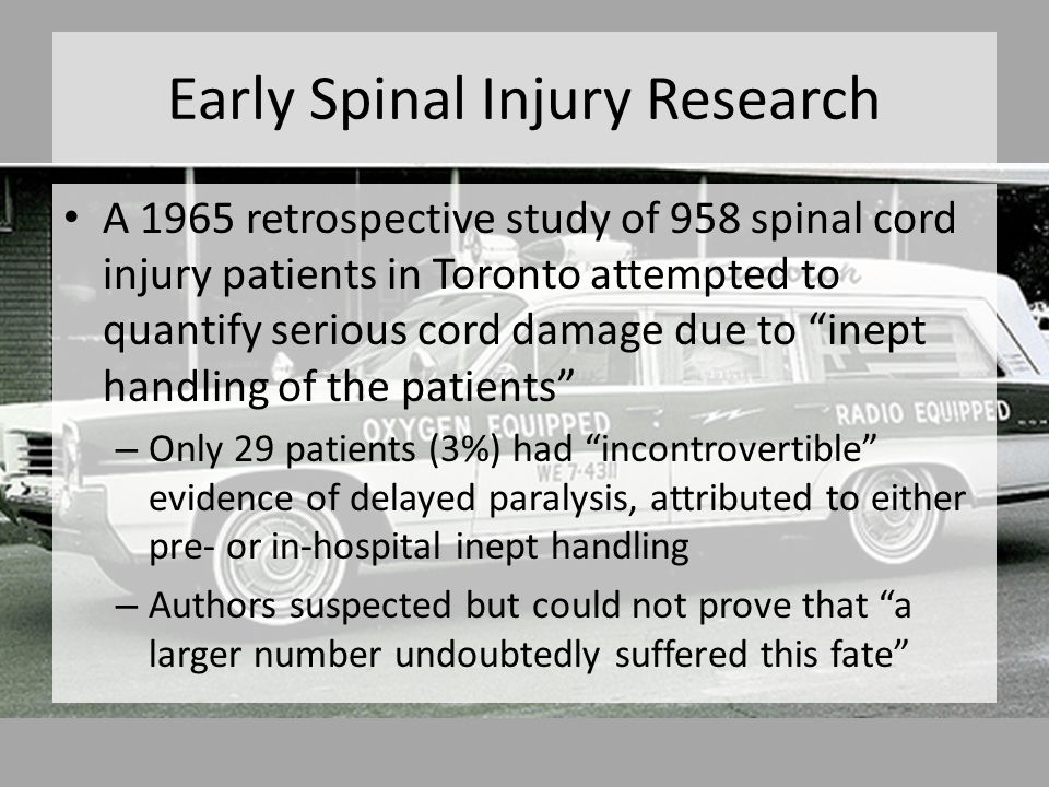 Spinal Precautions Procedure Specific Techniques 5.