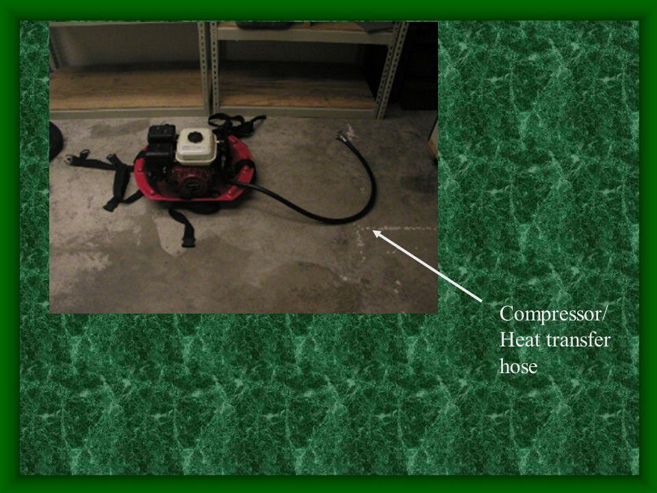 Compressor/ Heat transfer hose