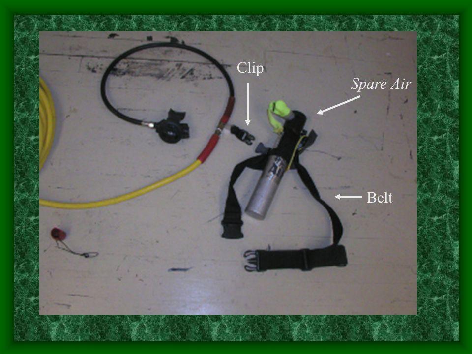 Belt Spare Air Clip