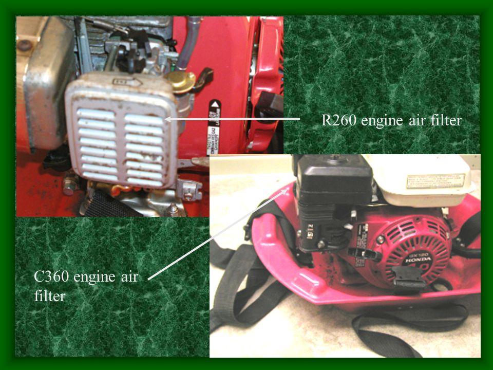 R260 engine air filter C360 engine air filter