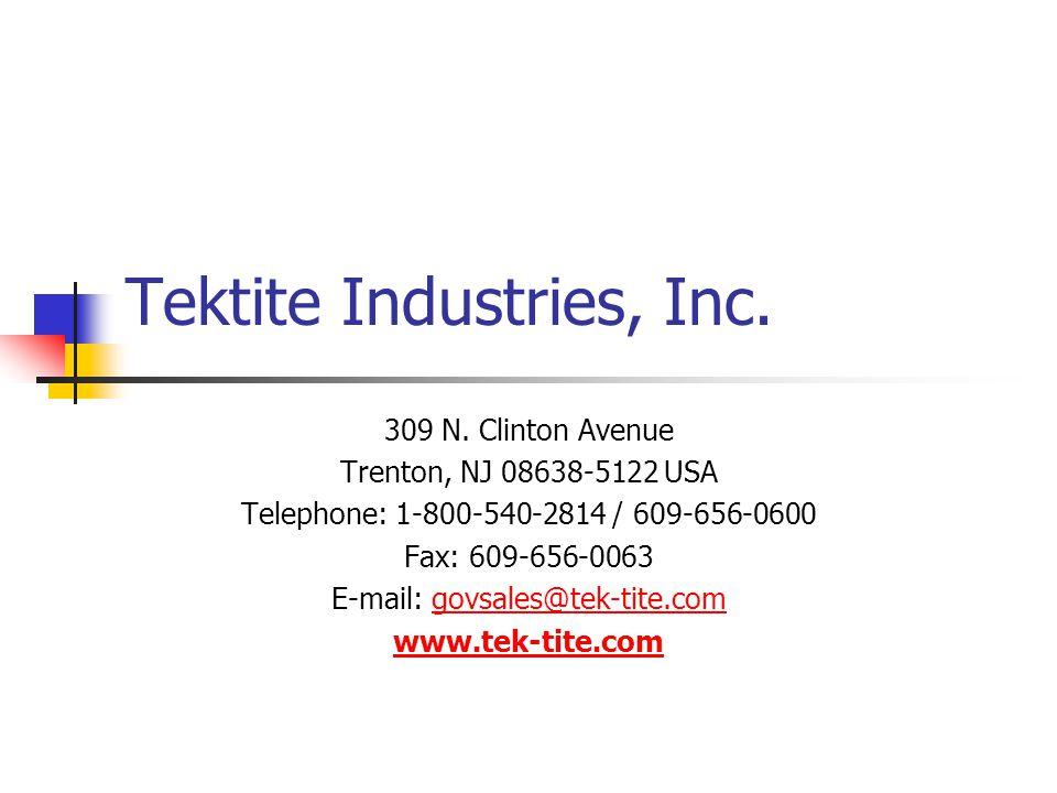Tektite Industries, Inc.309 N.