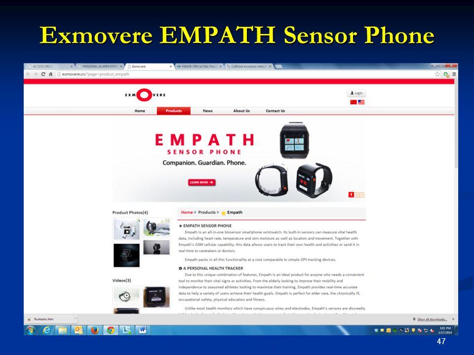 47 Exmovere EMPATH Sensor Phone