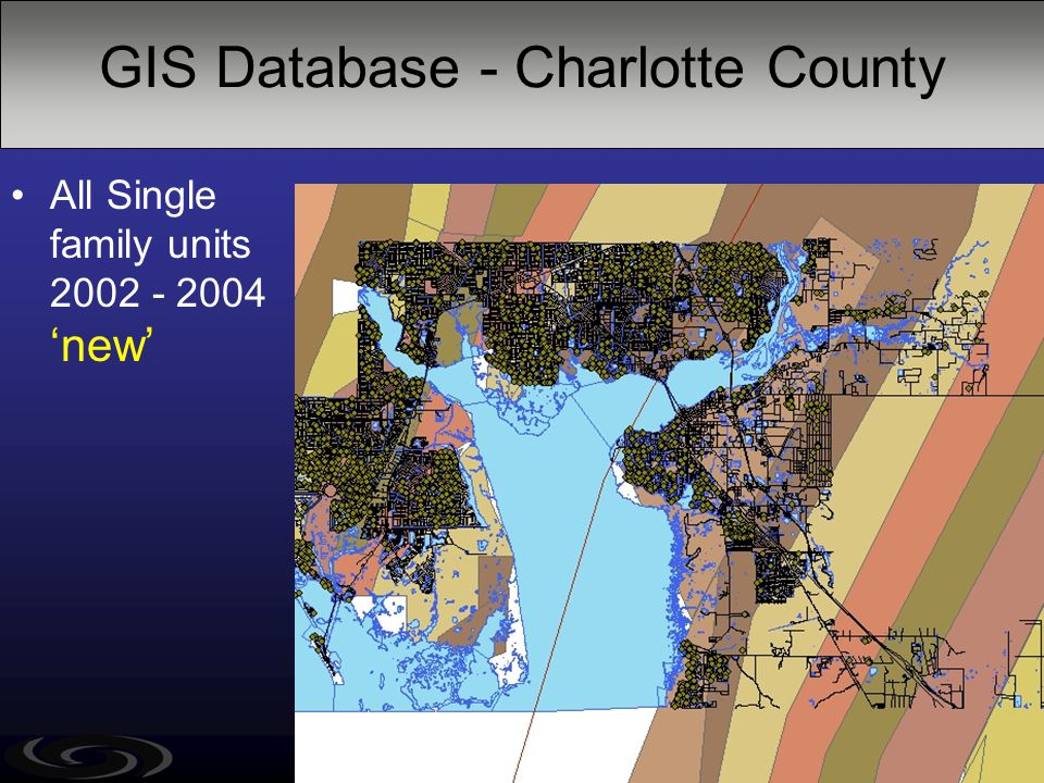GIS Database - Charlotte County All Single family units 2002 - 2004 'new'