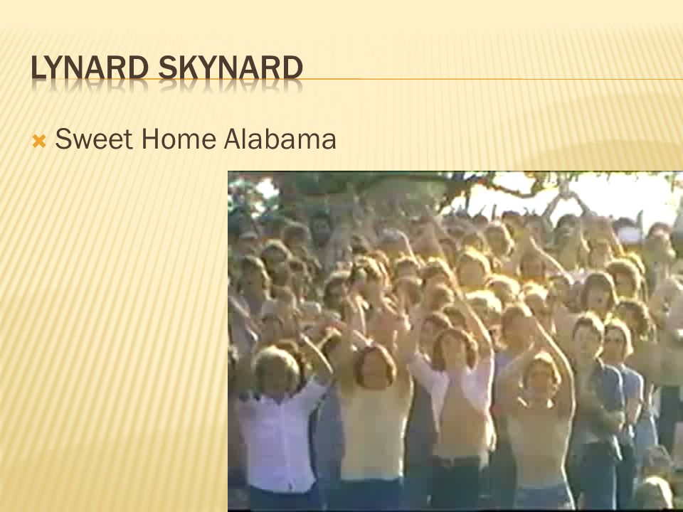  Sweet Home Alabama