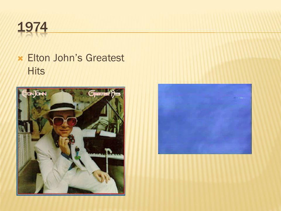  Elton John's Greatest Hits