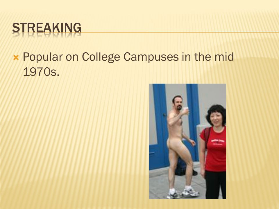  Popular on College Campuses in the mid 1970s.