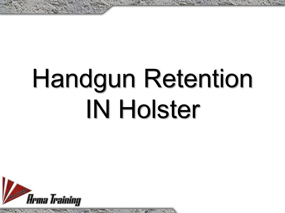Handgun Retention IN Holster