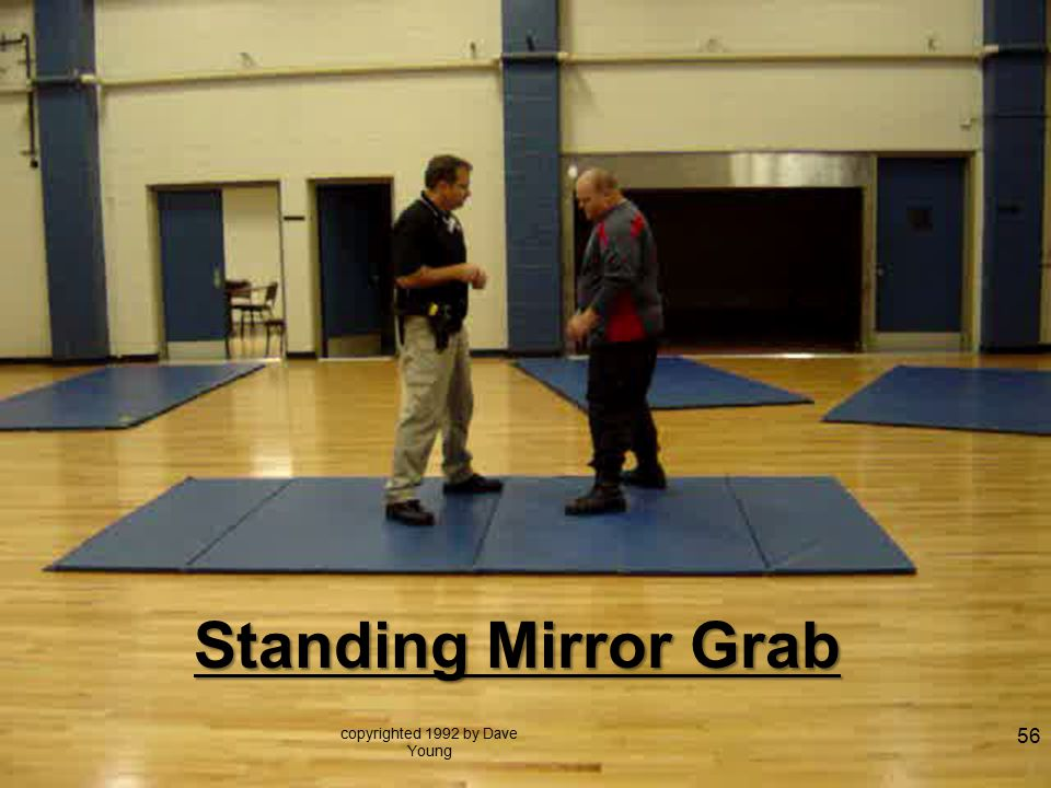 copyrighted 1992 by Dave Young 56 Standing Mirror Grab