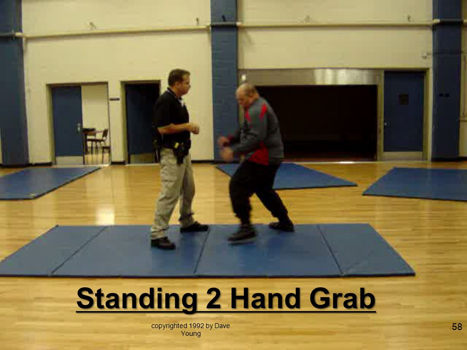 Standing 2 Hand Grab copyrighted 1992 by Dave Young 58